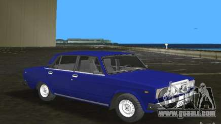 VAZ 2107 LADA car for GTA Vice City