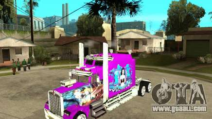Kenworth W 900b Aerodyne Custom for GTA San Andreas