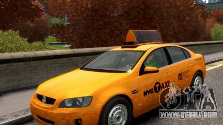 Holden NYC Taxi for GTA 4