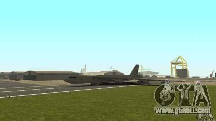 Boeing B-52H Stratofortress for GTA San Andreas