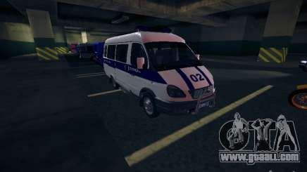 Gazelle 2705 Police for GTA San Andreas
