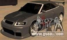 AUDI A4 Cabriolet for GTA San Andreas