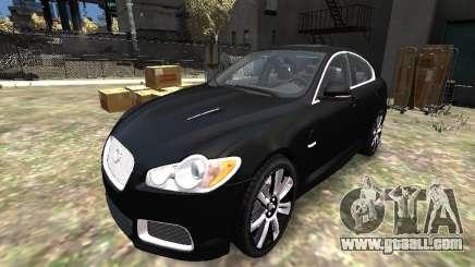 Jaguar XFR for GTA 4