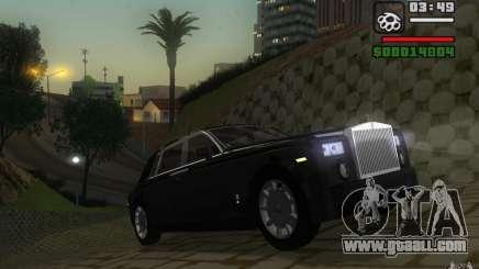 Rolls-Royce Phantom EWB for GTA San Andreas