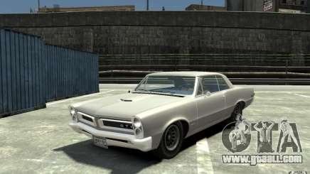 Pontiac GTO v1.1 for GTA 4