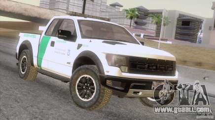 Ford Raptor for GTA San Andreas