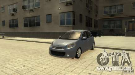 Nissan Micra for GTA 4