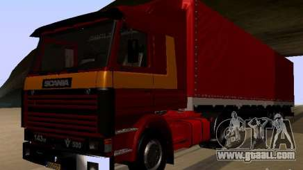 Scania 143M for GTA San Andreas