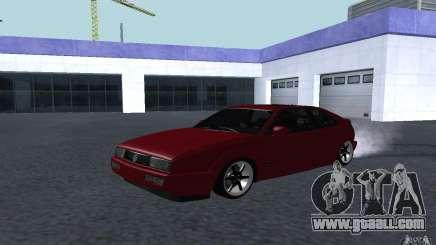 Volkswagen Corrado Burgundy for GTA San Andreas