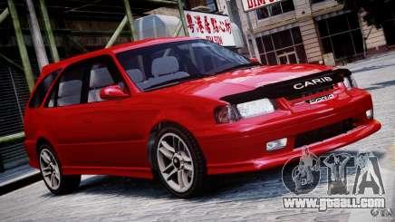 Toyota Sprinter Carib BZ-Touring 1999 [Beta] for GTA 4