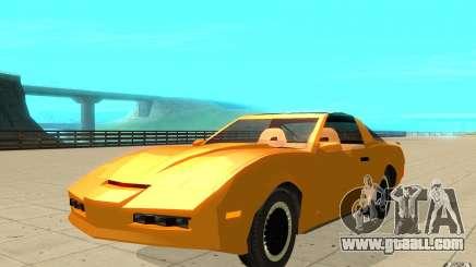 Pontiac Firebird 1989 K.I.T.T. for GTA San Andreas