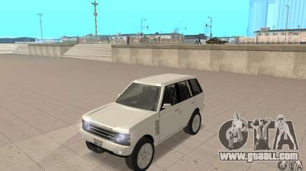 Range Rover Vogue 2003 for GTA San Andreas