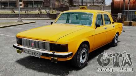 Gaz-3102 taxi for GTA 4