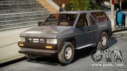Nissan Terrano for GTA 4