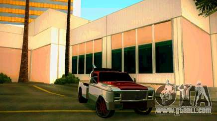 Towtruck tuned for GTA San Andreas