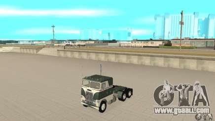 White Freightlinner 1966 for GTA San Andreas