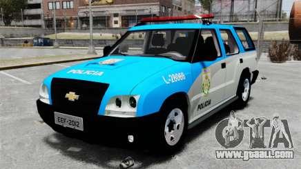 Chevrolet Blazer 2010 PMERJ ELS for GTA 4