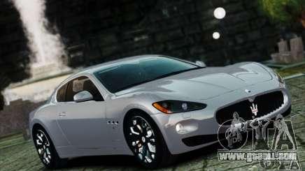 Maserati Gran Turismo S 2009 for GTA 4