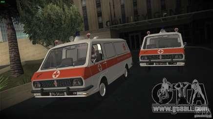 RAF 22031 ambulance for GTA San Andreas