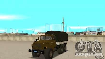 Ural 4320 for GTA San Andreas