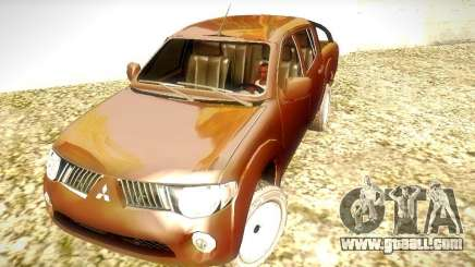 Mitsubishi L200 Stock for GTA San Andreas