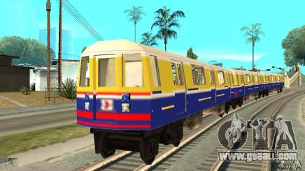 Liberty City Train Italian for GTA San Andreas
