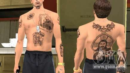 Blatnye tattoos for GTA San Andreas