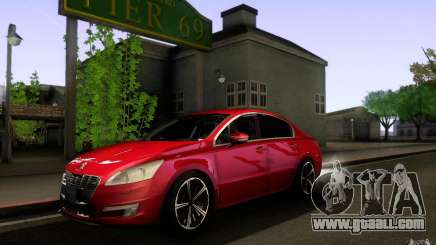 Peugeot 508 2011 for GTA San Andreas