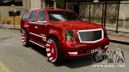 Cadillac Escalade 2011 DUB for GTA 4