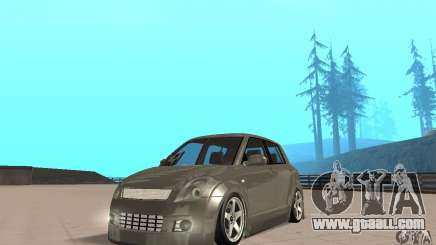 Suzuki Swift Tuning for GTA San Andreas