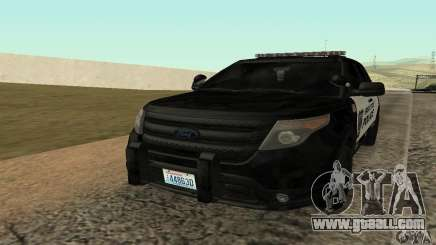 Ford Police Interceptor Utility 2011 for GTA San Andreas