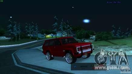 FBI Huntley 4x4 for GTA San Andreas