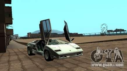 Lamborghini Countach 25th for GTA San Andreas