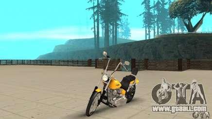 Harley Davidson softail Skin 1 for GTA San Andreas