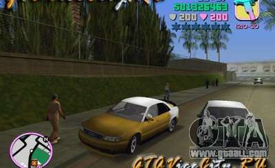 Audi S8 Tuning for GTA Vice City