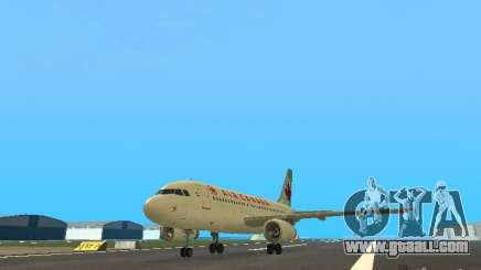 Airbus A319 Air Canada for GTA San Andreas