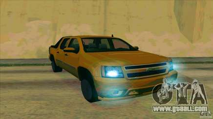 Chevrolet Avalanche 2011 for GTA San Andreas
