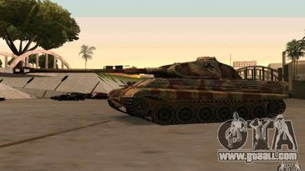 Pzkpfw VII Tiger II for GTA San Andreas