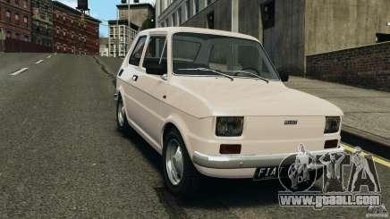 Fiat 126 Classic for GTA 4