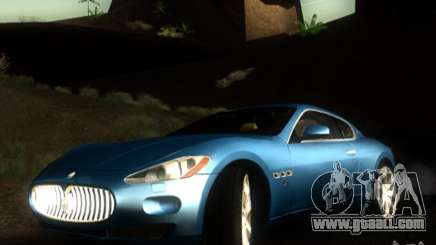 Maserati Gran Turismo for GTA San Andreas