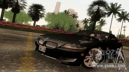 BMW Z4M grey for GTA San Andreas