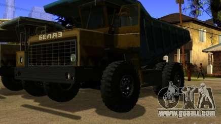 BELAZ 540 for GTA San Andreas