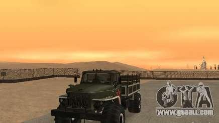 Ural 43206 Parade for GTA San Andreas