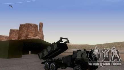 M142 HIMARS Artillery for GTA San Andreas
