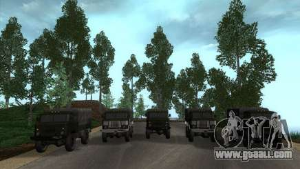 GAZ 66 Parade for GTA San Andreas