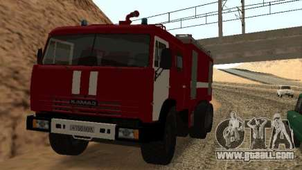 KAMAZ 53229 Firefighter for GTA San Andreas