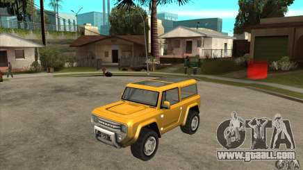 Ford Bronco Concept for GTA San Andreas