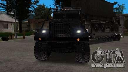 KrAZ 255 + trailer artict2 for GTA San Andreas