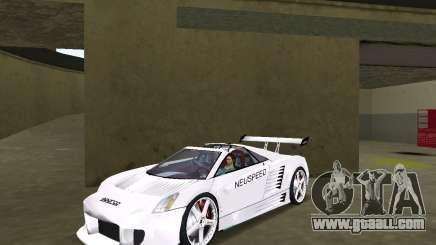 Cadillac Cien Shark Dream TUNING for GTA Vice City