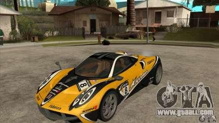 Pagani Huayra ver. 1.1 for GTA San Andreas